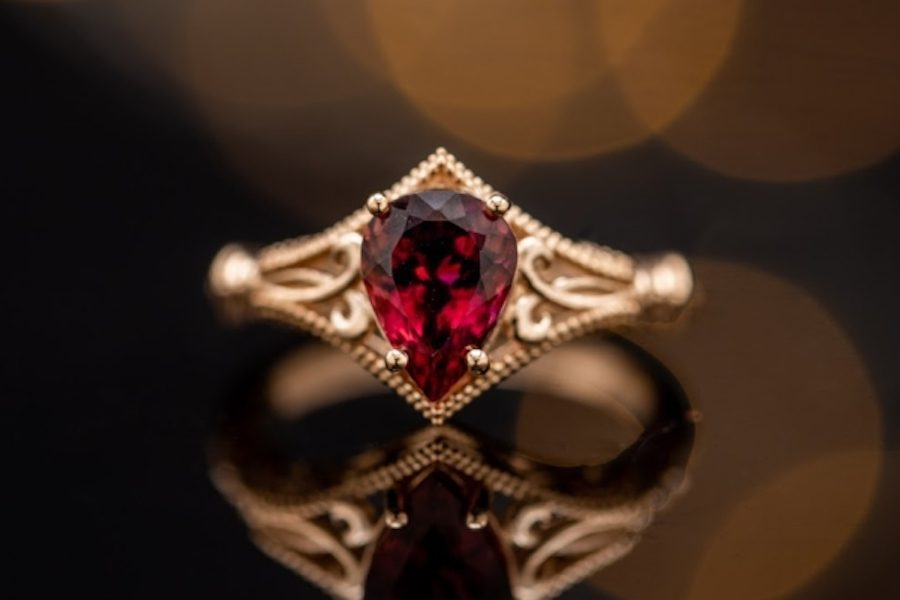 Edwardian style - engagement ring setting