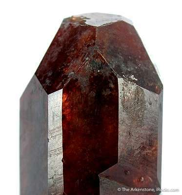 spessartine garnet crystal, Pakistan - garnet symbolism and legends