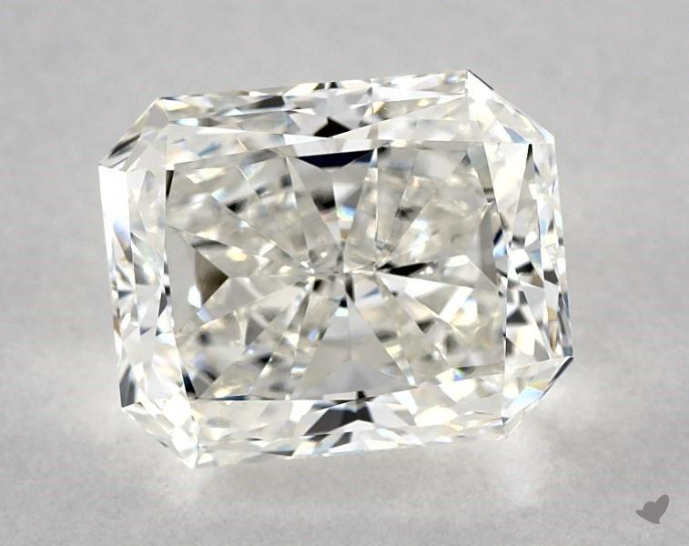 uneven corners - radiant-cut diamonds