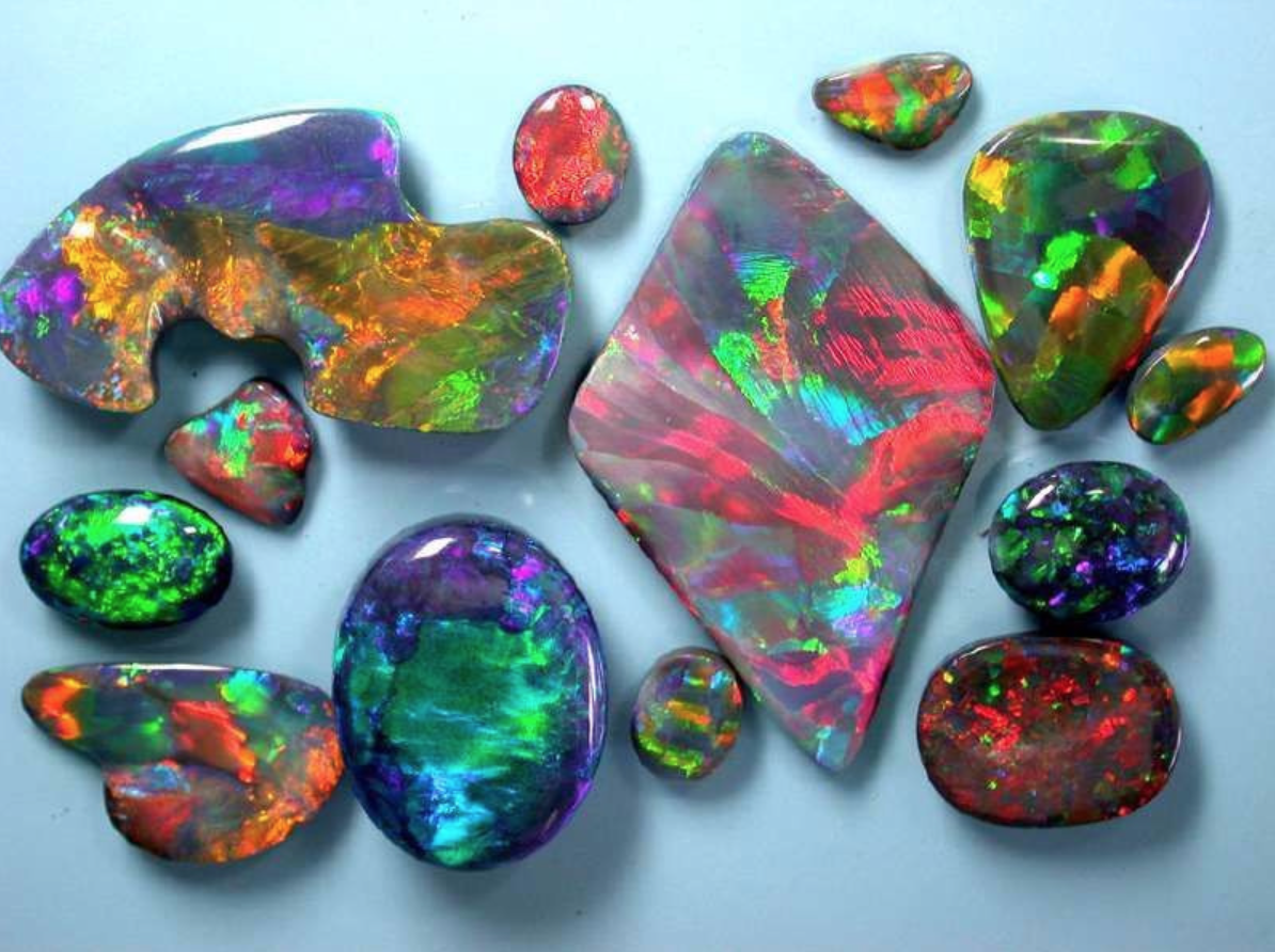 Eight Opal Types Explained International Gem Society