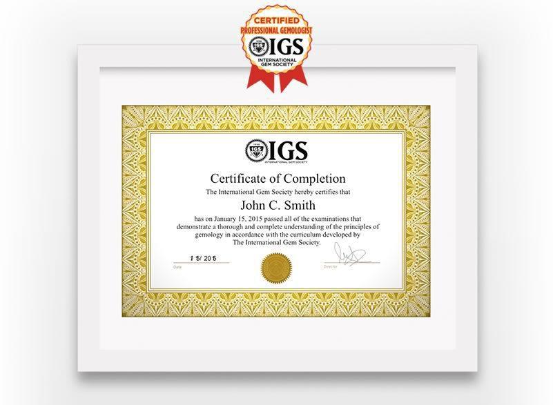 Professional Gemologist Certification Course Online