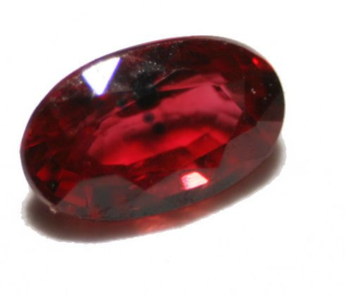 ruby with inclusions
