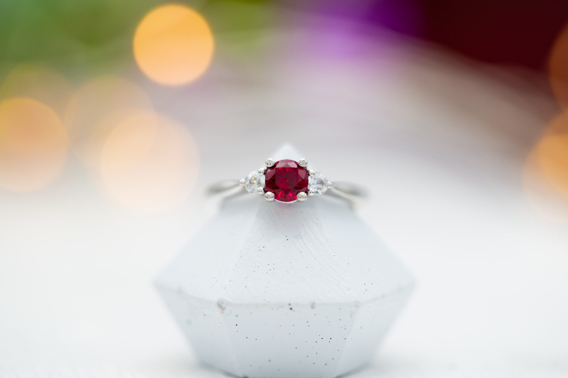 lab-made ruby