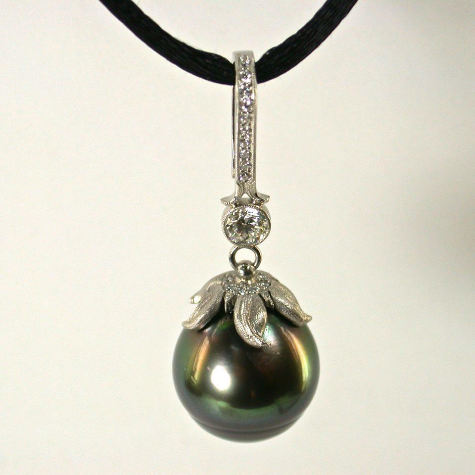 hitian pearl pendant