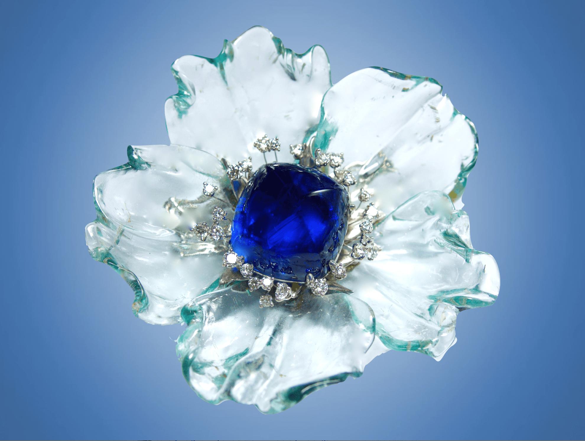 sugarloaf cabochon sapphire