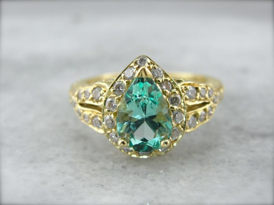 light tone bluish green