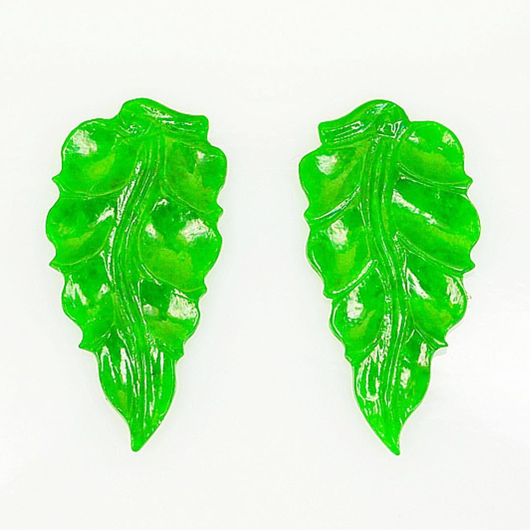 green jade carvings