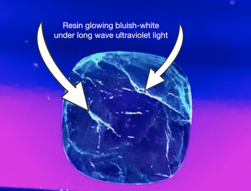 emerald enhancements - UV light 1