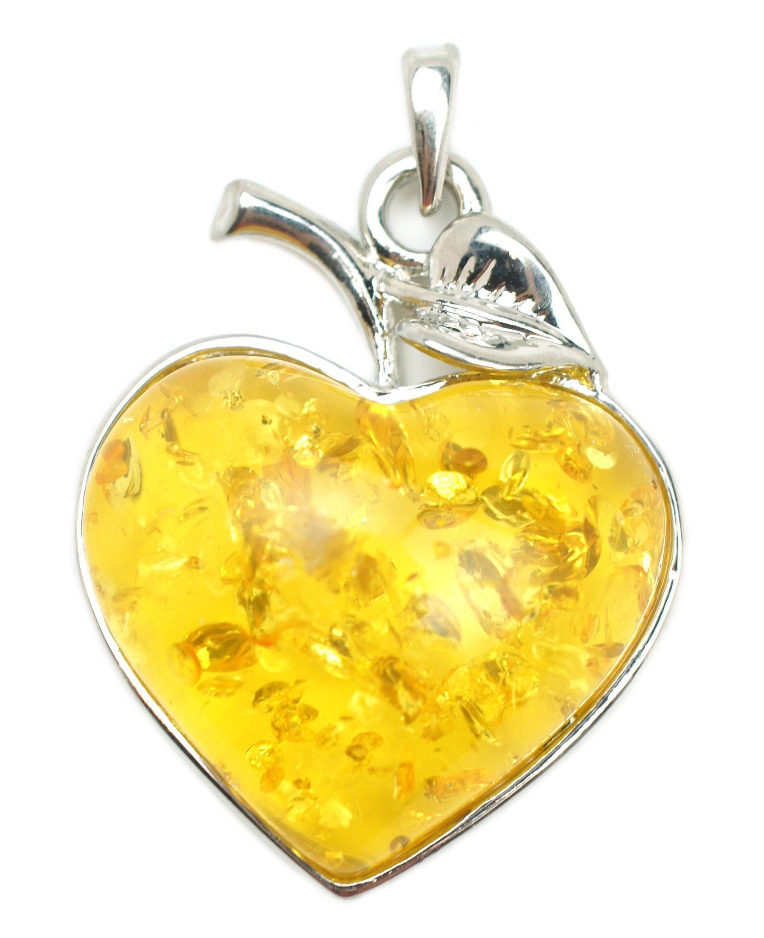 heated amber