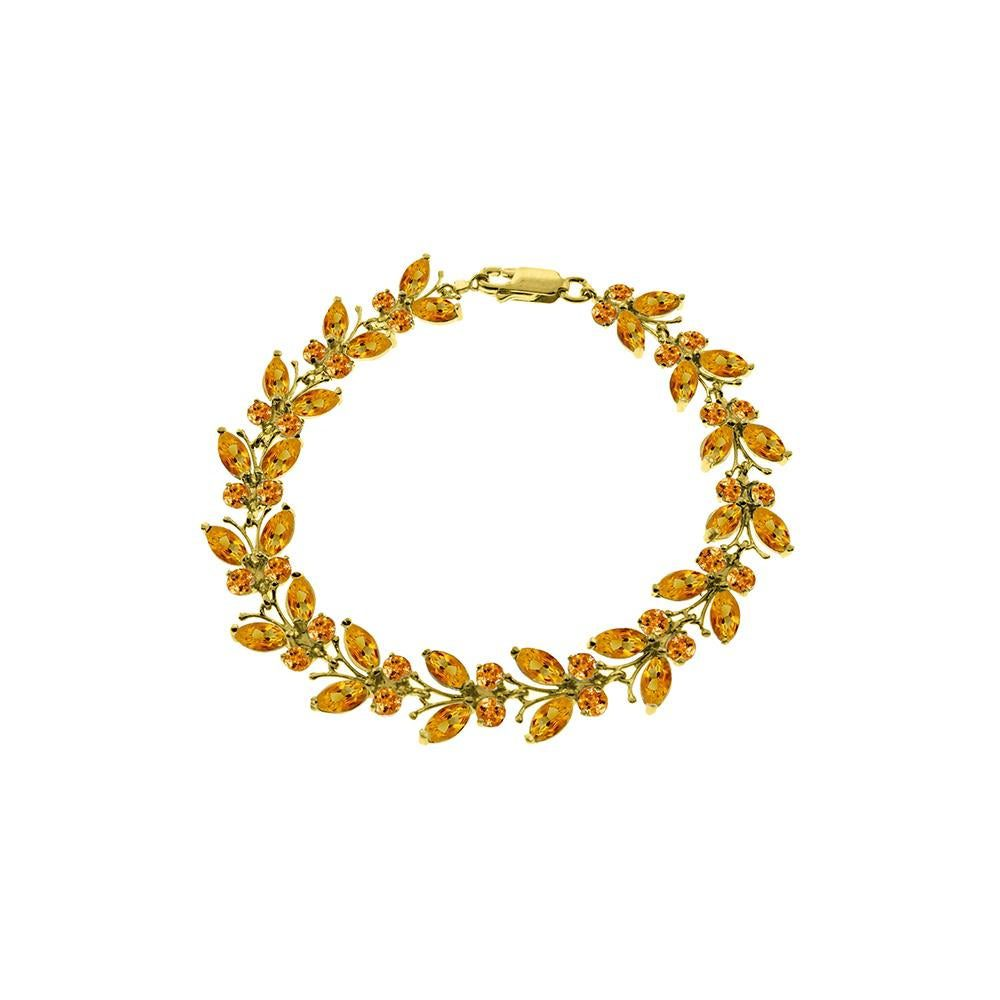 citrine bracelet - common gemstone treatments
