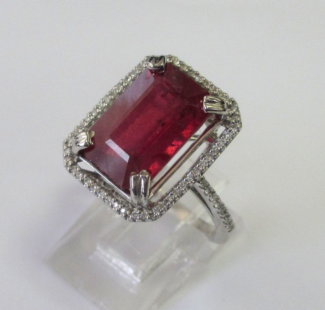 glass-filled ruby