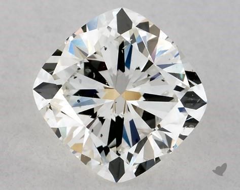 cushion-cut si1 clarity diamond