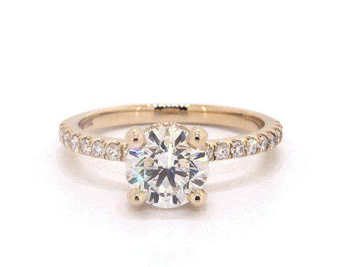 e color diamond in yellow gold