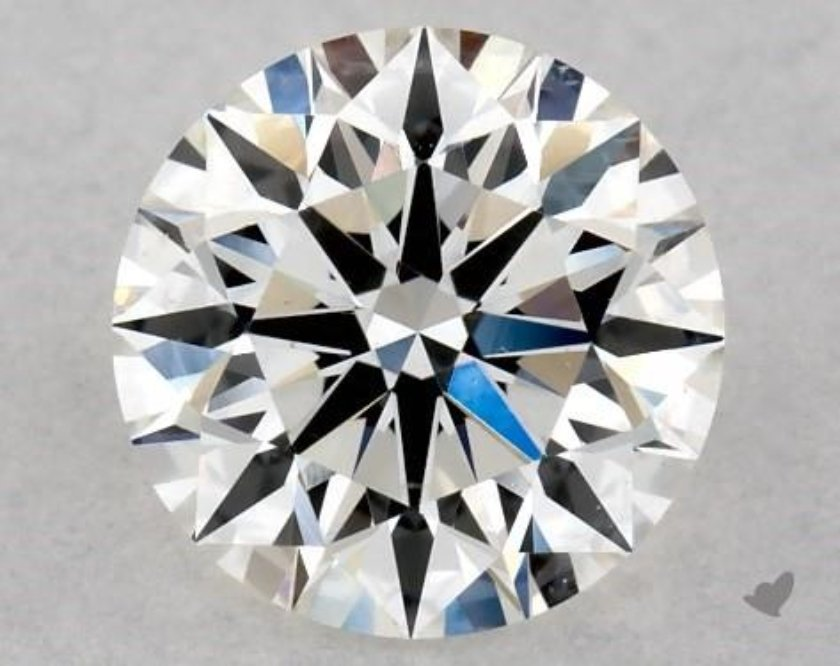 0.51ct I clarity diamond