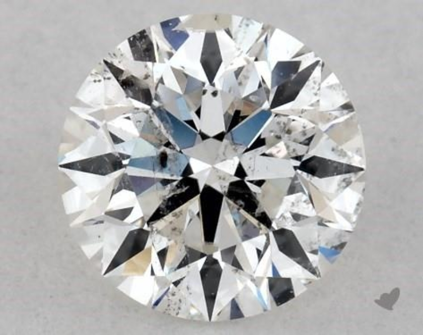 0.63ct G I1 clarity diamond