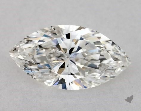 si2 clarity marquise-cut diamond