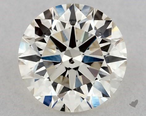 SI clarity diamond not eye clean