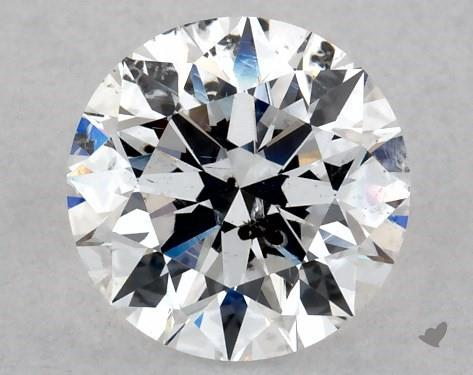 I clarity diamond with large inclusion