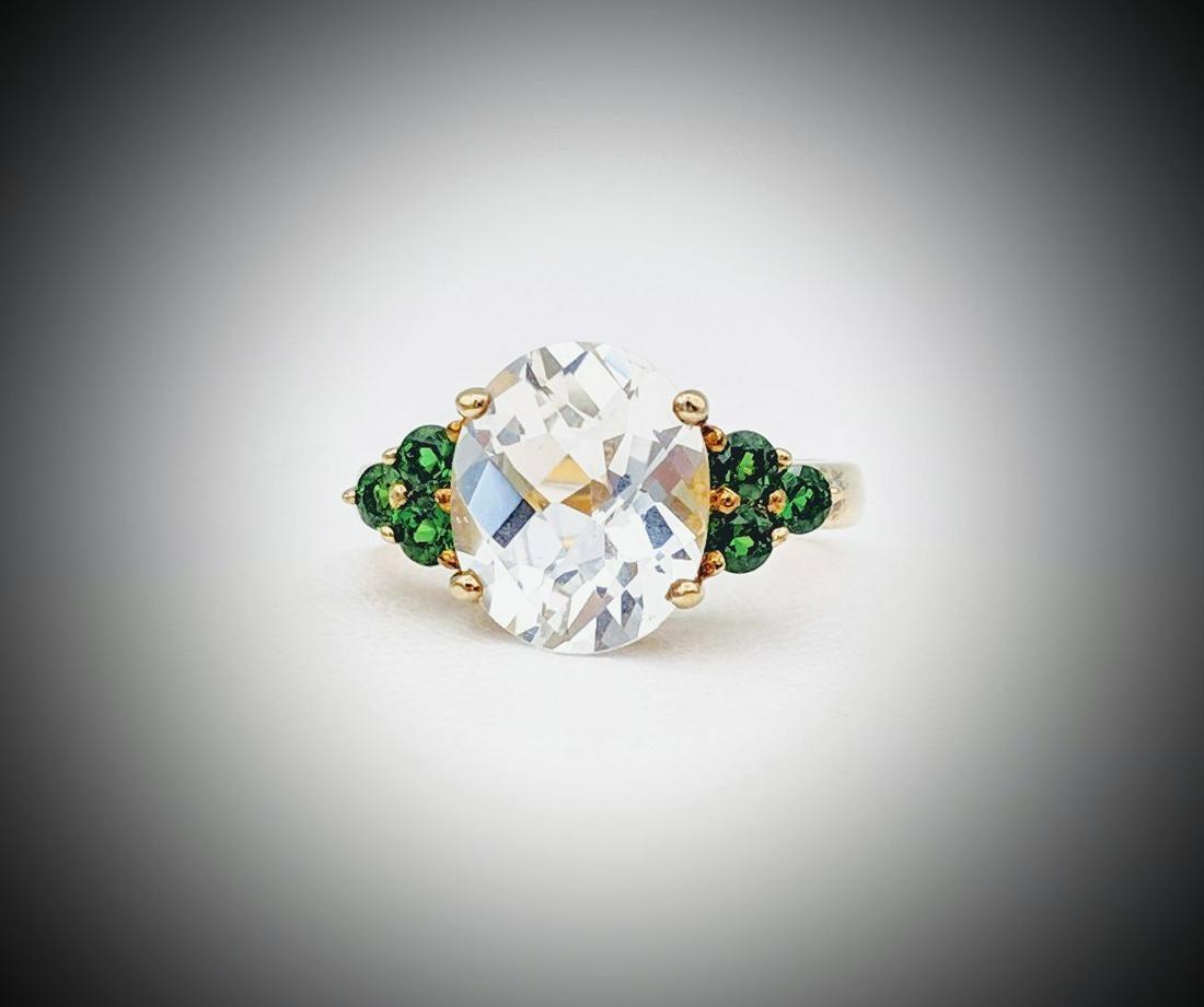 goshenite ring