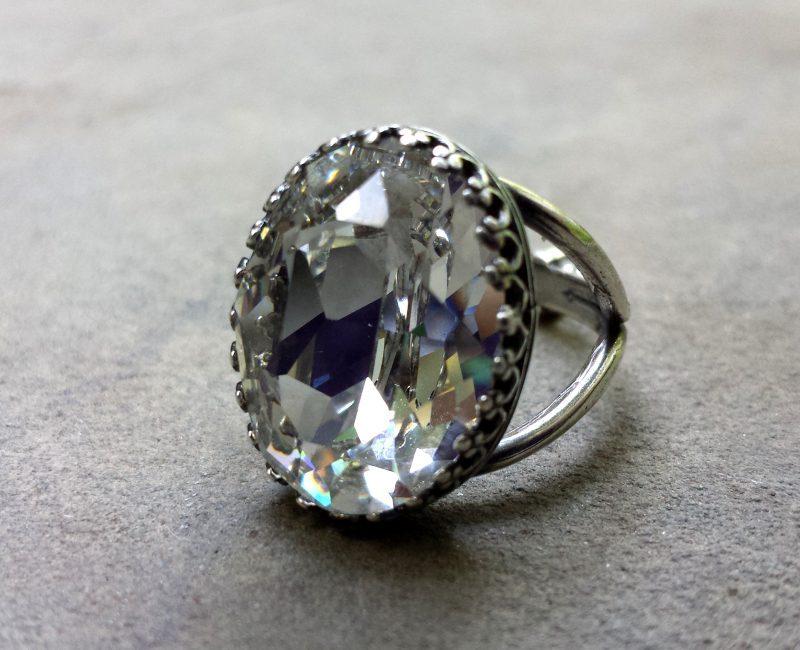 swarovski glass diamond alternative