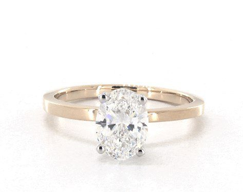 white gold prongs