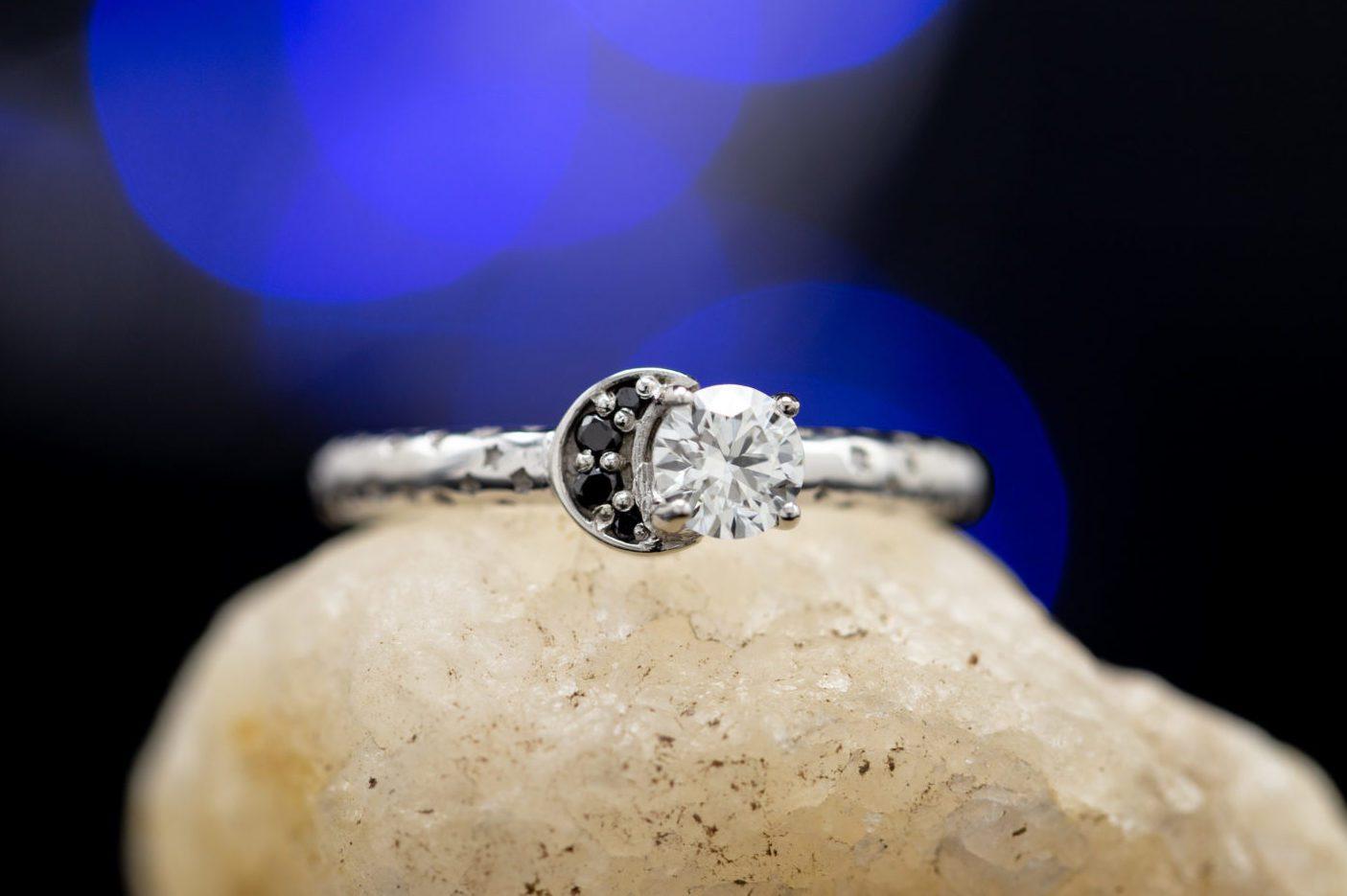 I1 clarity engagement ring