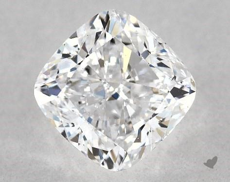 SI1 clarity cushion-cut diamond