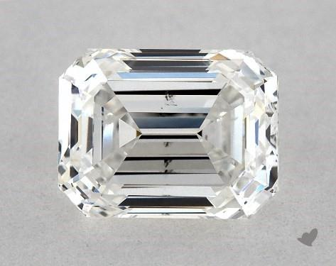 emerald-cut SI1 clarity diamond