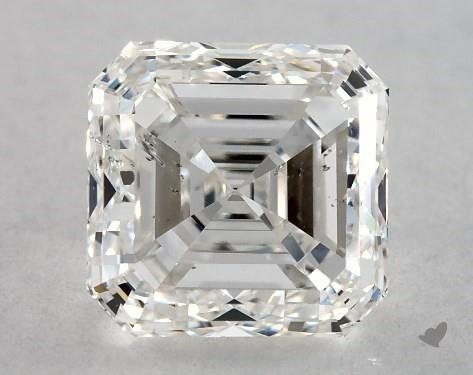 asscher-cut SI2 diamond