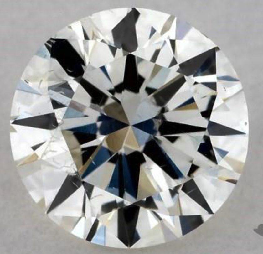 Half-carat, I, SI2