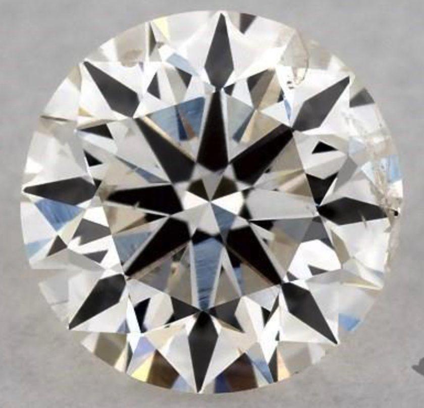 Half-carat, J, I1