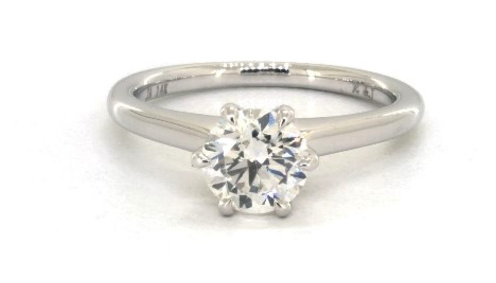 1.00-ct SI1, G color diamond