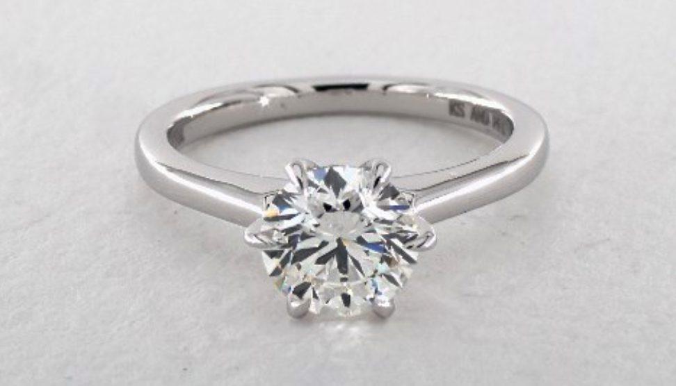 1.00-ct VS1, G color diamond