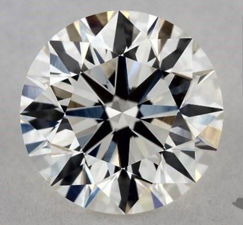 1.06-ct VS1 H round diamond