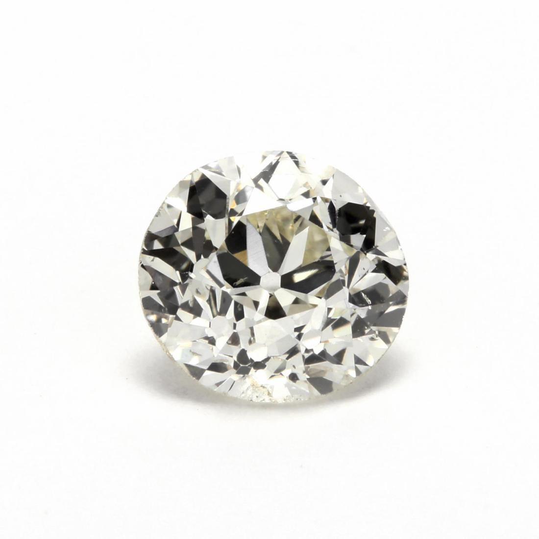 Old European Cut Near Colorless Diamond Simulant Cubic Zirconia Georgie