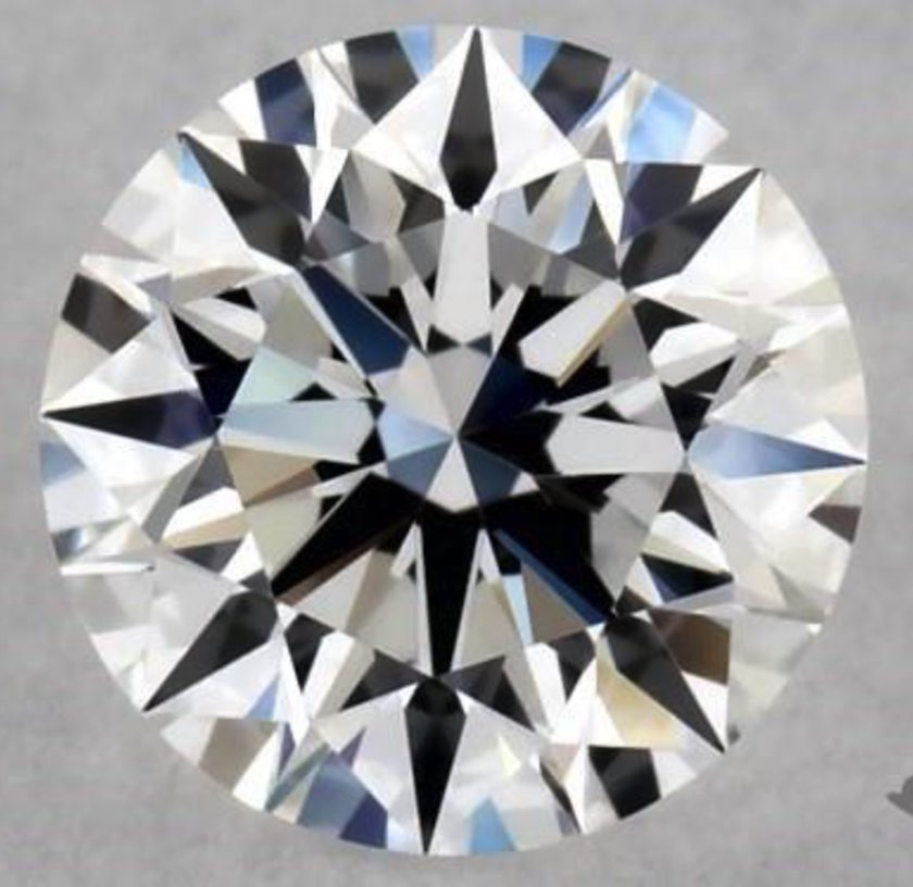 0.30-ct D color, IF clarity diamond