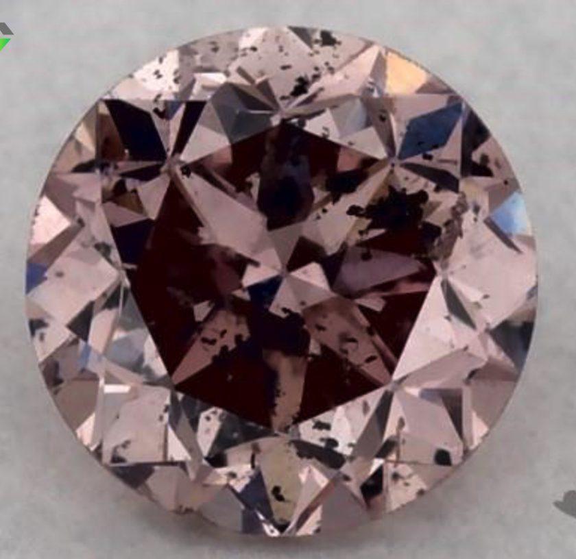 0.30-ct intense fancy pink diamond
