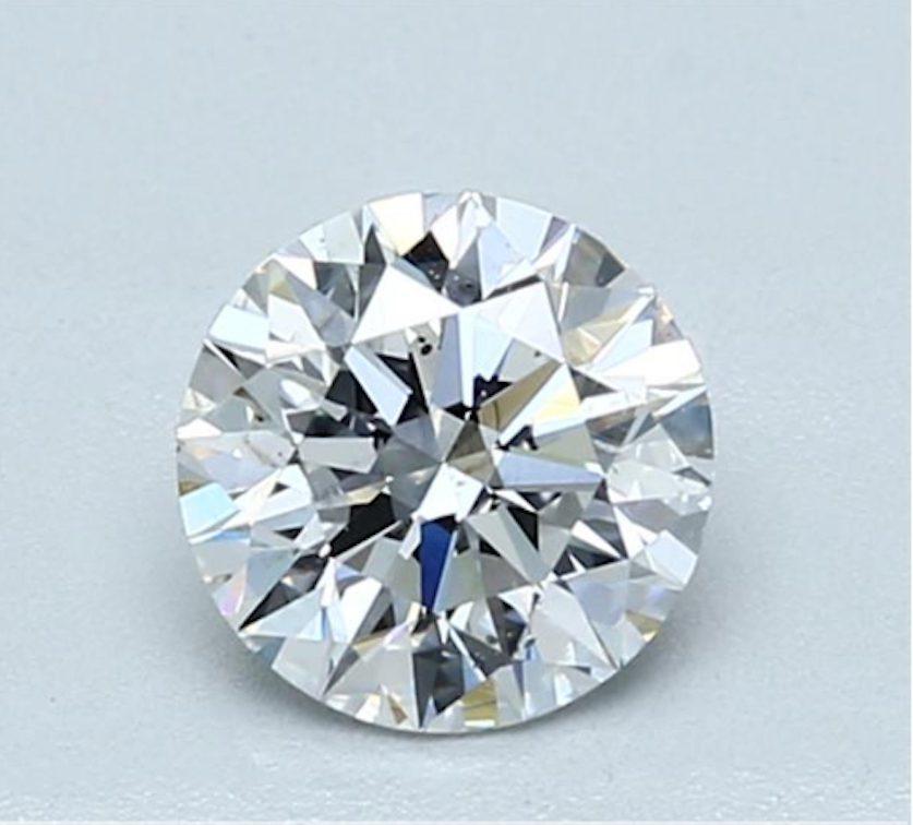 Round diamond - D SI