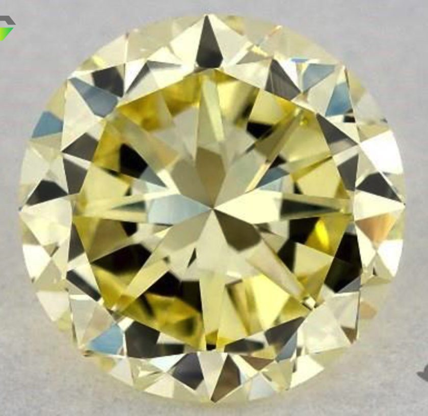 1.02-ct fancy yellow