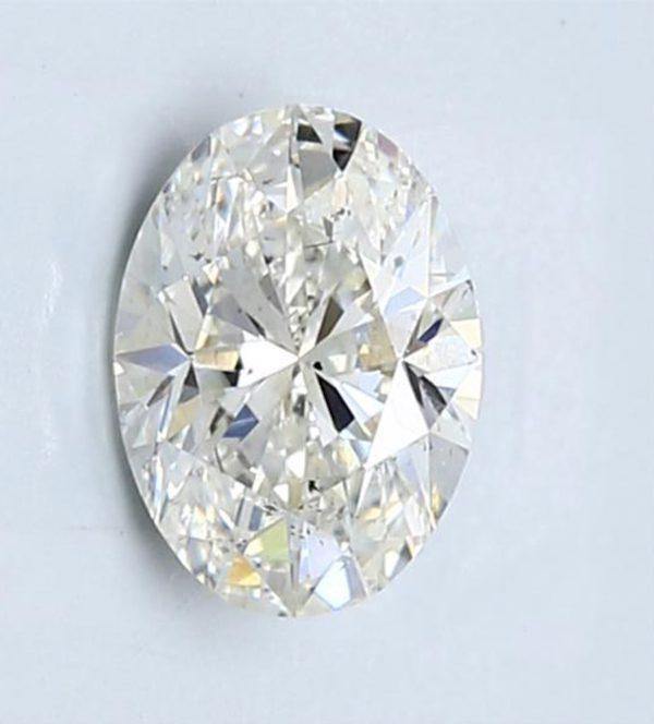 one-carat oval diamonds - 1.40 LW