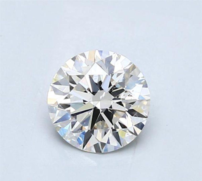 Round diamond - J SI1