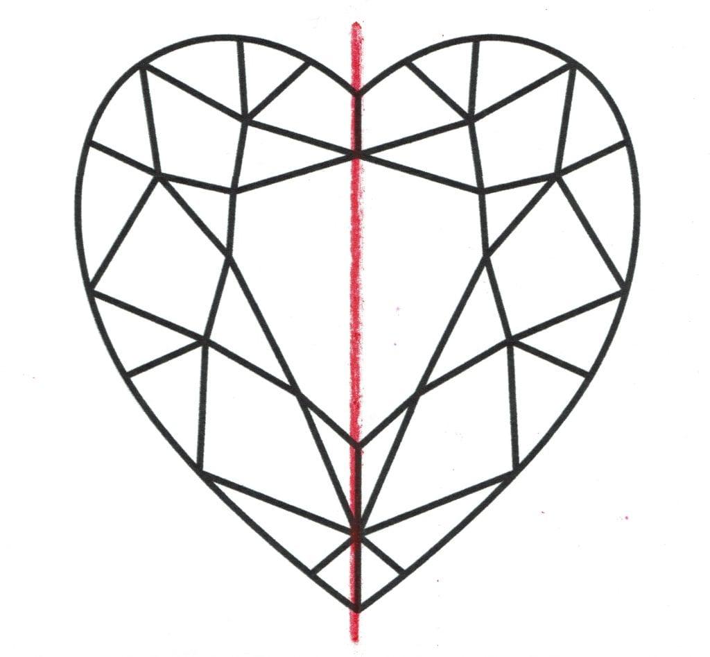 symmetrical heart