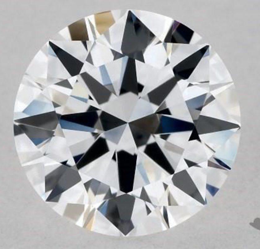 Round-cut diamond - D IF