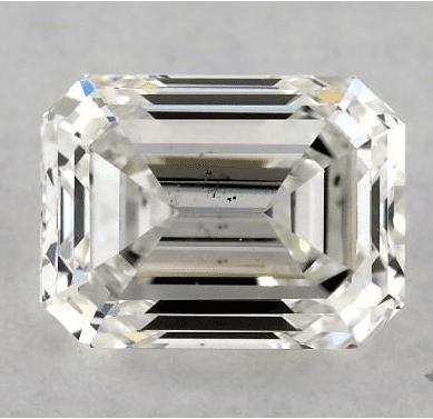 VVS2 Emerald Cut Diamond from James Allen
