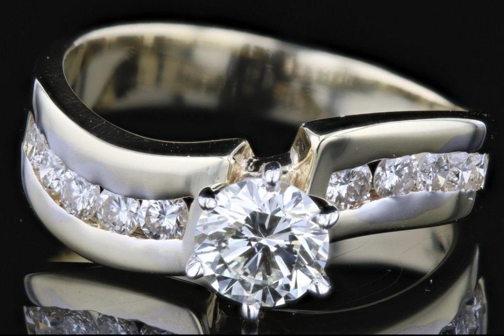 high-performance diamonds - Hearts and Arrows diamond ring