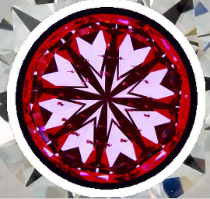 high-performance diamonds - heart pattern