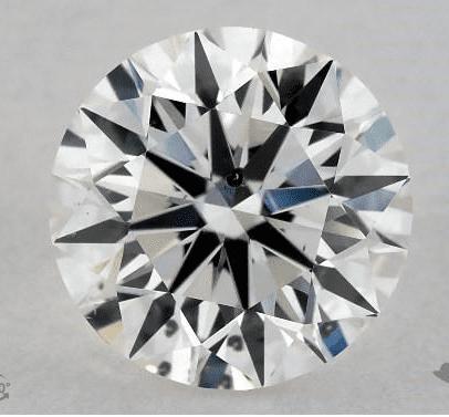 1.00-ct round diamond