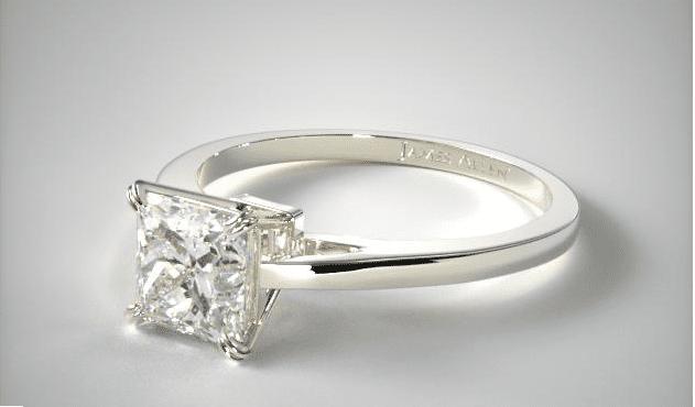 Ring Width Image 3 Princess Cut