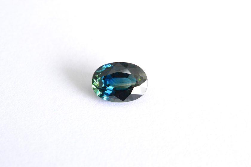 teal sapphire color composition - B&D