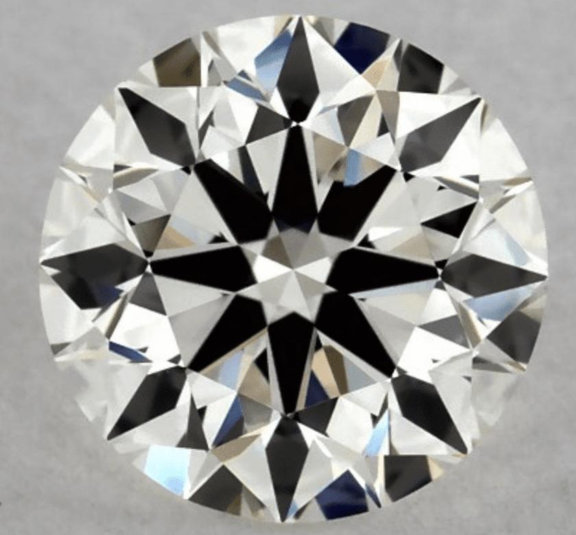 F clarity diamond